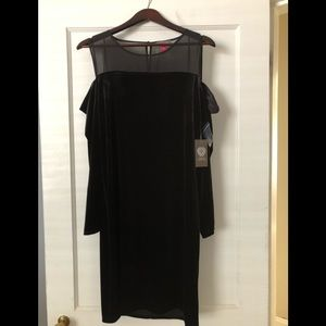 Vince Camuto Sexy Cold Shoulder Cocktail Dress